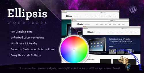 Themeforest Ellipsis - Business and Portfolio Wordpress Theme - Rip