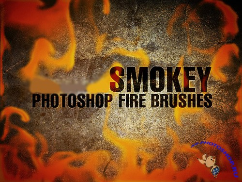SMOKEY Photoshop Fire Brushes