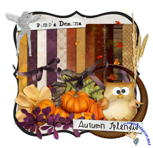 Scrap-set - Autumn Splendid