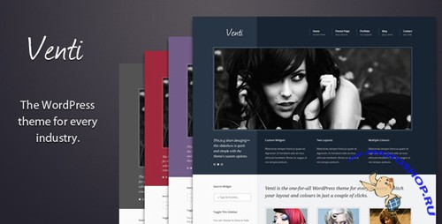 Themeforest Venti - multi-purpose business theme