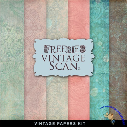 Textures - Old Vintage Backgrounds #54