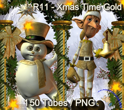 R11 - Xmas Time Gold