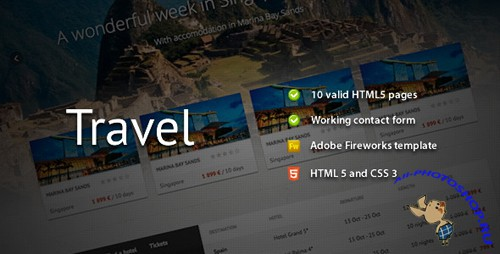 ThemeForest - Travel - Premium HTML Template  - RIP