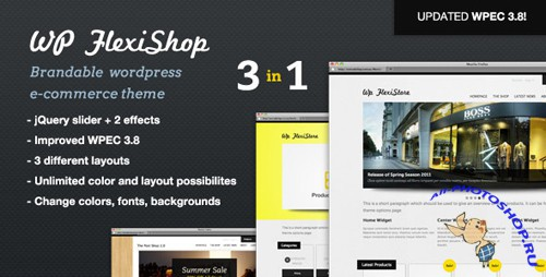 WP FlexiShop - A Versatile WP E-Commerce Theme v1.2.4