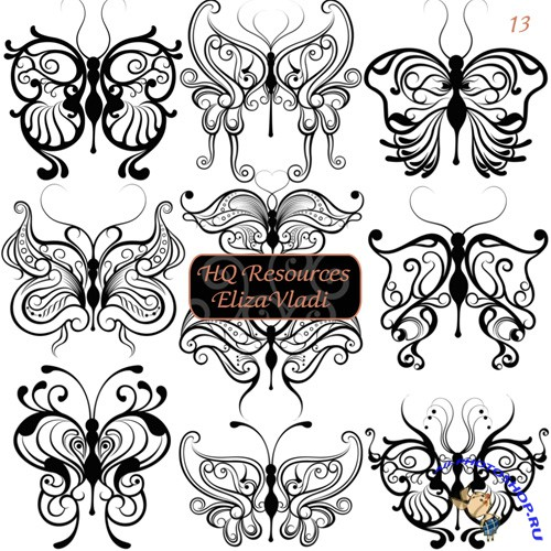Magic Butterfly Brushes