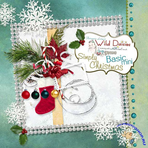 Scrap-set - Simply Christmas