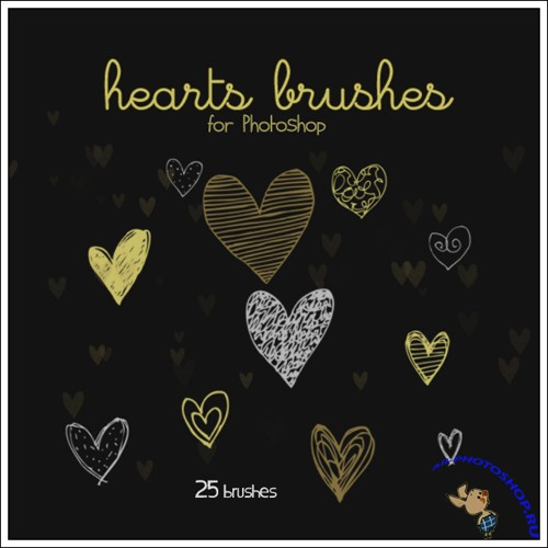 Hearts brushes II