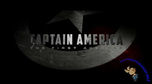 Aetuts+ Hollywood Movie Title Series � Captain America