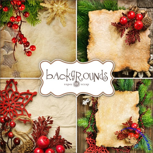 Textures - Christmas Backgrounds #9