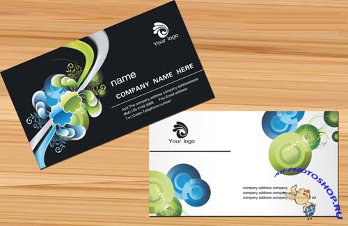 Art cards Personalized business card template