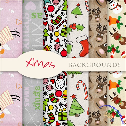 Textures - Christmas Backgrounds #12