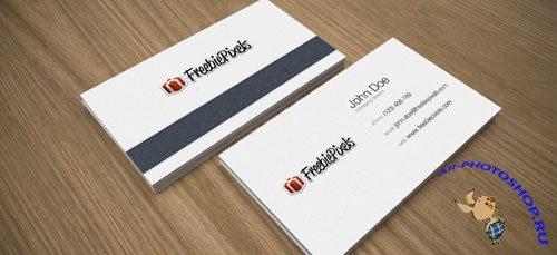 Business Card Mock Up PSD Template