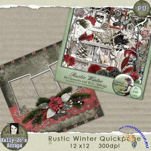 Quick-page - Rustic Winter