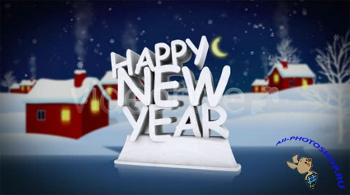 Videohive - Happy New Year - Footage for After Effects