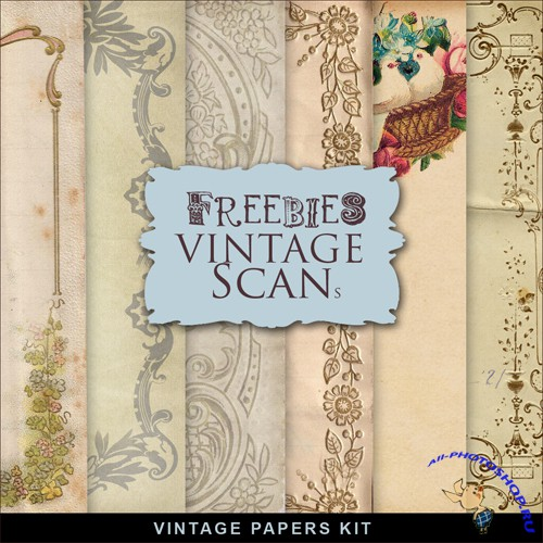 Textures - Old Vintage Backgrounds #61