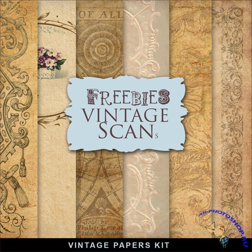 Textures - Old Vintage Backgrounds #62