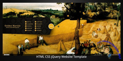 ThemeForest - Golden Harvest–HTML5 business/portfolio template - Rip