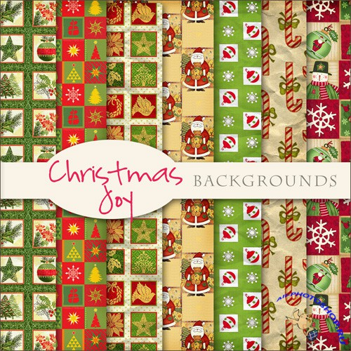 Textures - Christmas Backgrounds #18