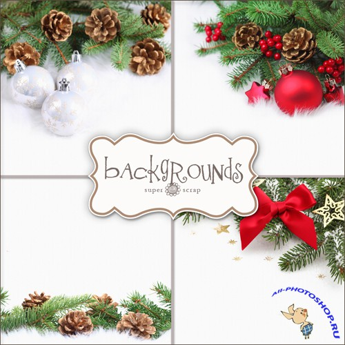 Textures - Christmas Backgrounds #19