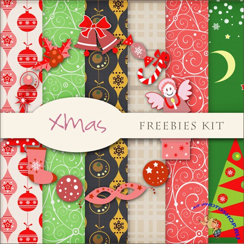 Textures - Christmas Backgrounds #23
