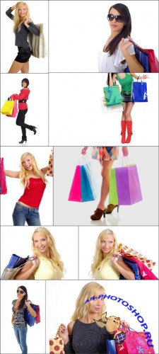 Photo Cliparts - Shopping