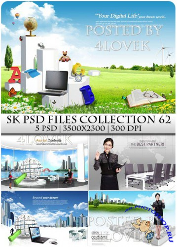 SK PSD files Collection 62