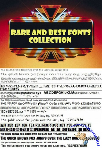 9480 Very Rare and Best Fonts Collection