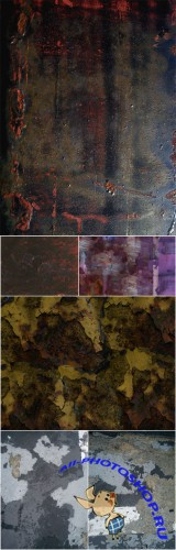 Textures - Rusty, Flaky Old Paint Vol. 16