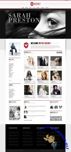 The Agency v1.0.4 - JoomlaXTC Joomla 1.5/1.7 Template