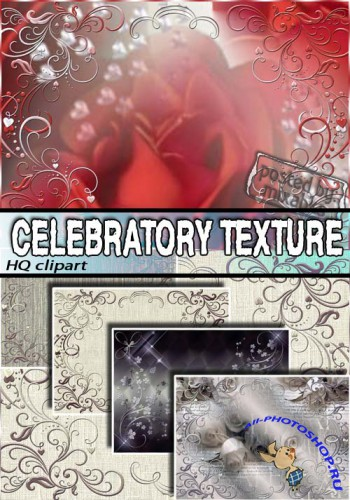 ����������� �������� | Selebratory Textures (HQ clipart)