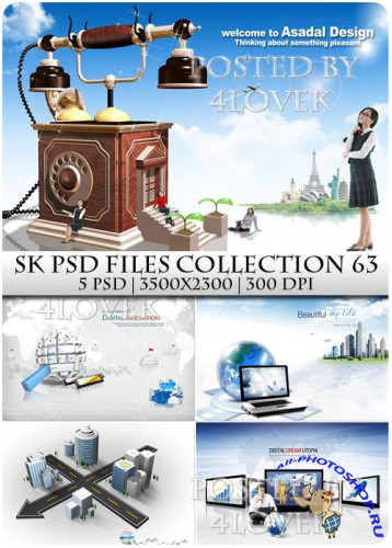 SK PSD files Collection 63