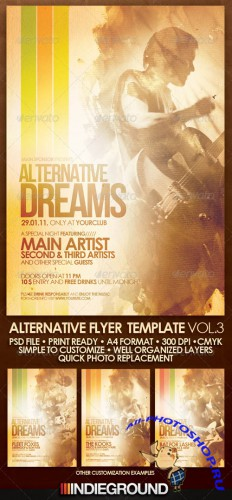GraphicRiver - Alternative Flyer/Poster Vol. 3