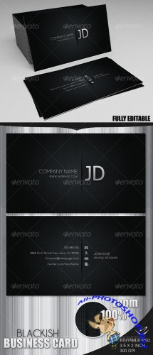 GraphicRiver - Blackish Business Card (REUPLOAD)