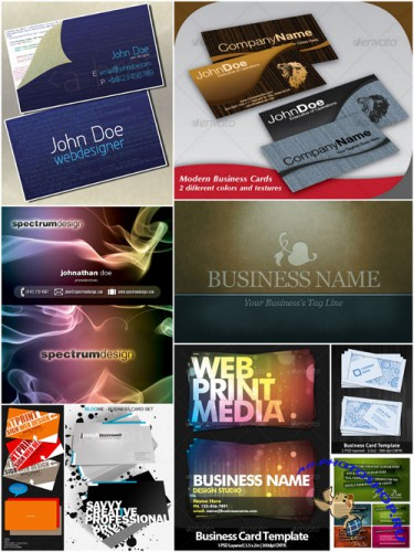 GraphicRiver - Ultimated Master Business Card Templates Pack 2 (REUPLOAD)