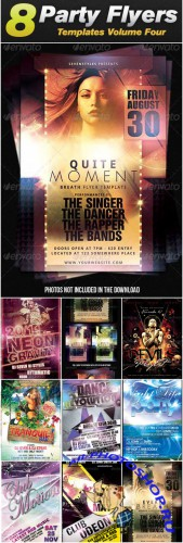 GraphicRiver - Sevenstyles Poster & Flyer Templates Bundle (Pack 4)
