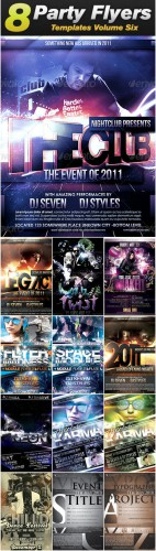 GraphicRiver - Sevenstyles Poster & Flyer Templates Bundle (Pack 6)