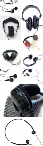 Photo Cliparts - Headphones
