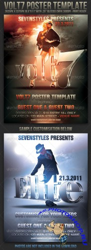 GraphicRiver - Volt7 Poster Flyer Template
