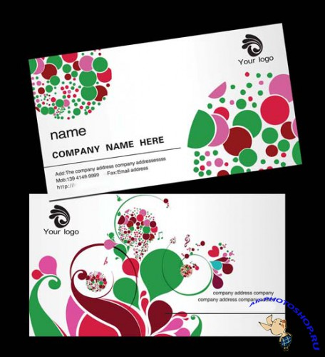 PSD Excellent Simple And Elegant Business Card
