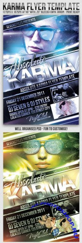 Graphicriver Karma Flyer Template