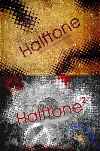 Halftone brushes set 1,2