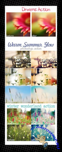 Photoshop Action pack 49