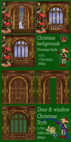 Scrap-kit - Christmas in Victorian Style