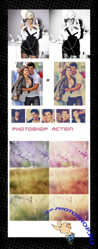 Photoshop Action pack 53