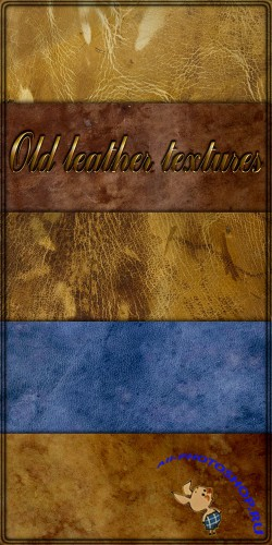 Old leather textures