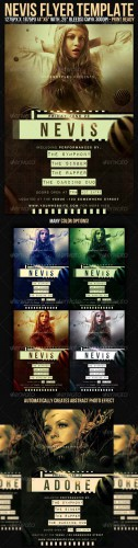 GraphicRiver - Nevis Flyer Template