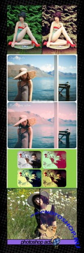 Photoshop Action pack 64