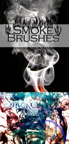 Smoke Brushes Set for Photoshop