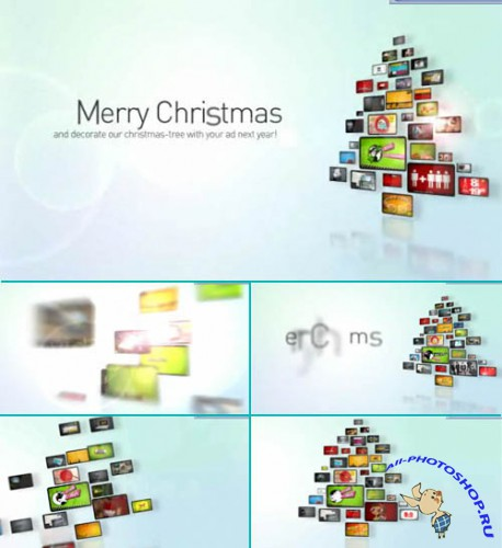 Videohive - Corporate Christmas Tree - Project for After Effects