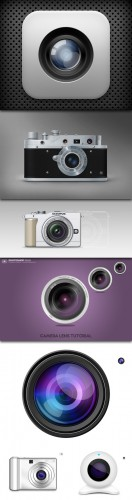 Camera PSD Collection